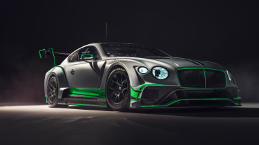 Bentley Continental GT3 front quarter