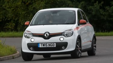 Used Renault Twingo - front cornering