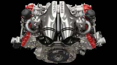 Ferrari 296 GTB - engine