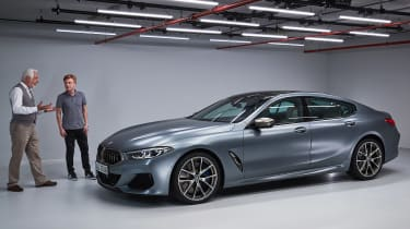BMW 8 Series Gran Coupe - James Brodie