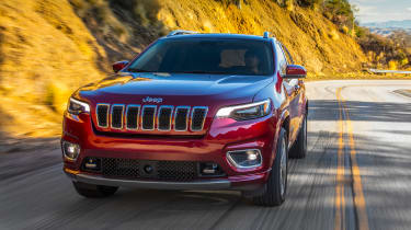 Jeep Cherokee - front tracking