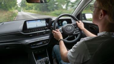 Hyundai Bayon - driving