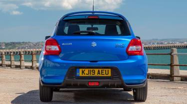 Suzuki Swift Attitude - full rear static