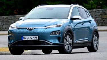 Hyundai Kona electric header