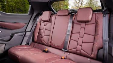 DS 3 Crossback - rear seats