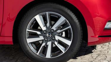 Nissan Micra Xtronic - wheel