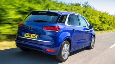 Citroen C4 Picasso rear