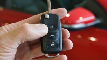 Volkswagen Golf Mk6 (used) - key