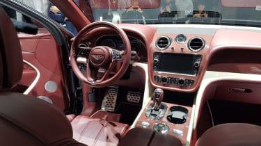 Bentley Bentayga PHEV - interior