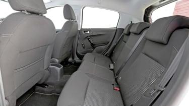 Used Peugeot 208 - rear seats