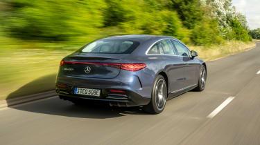 New Mercedes EQS 2021 review - rear