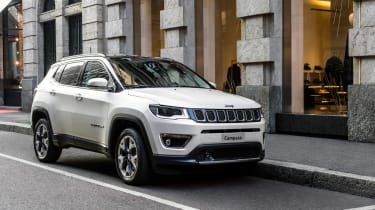 2017 Jeep Compass - front quarter town