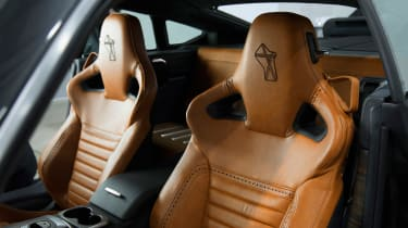 David Brown Automotive Speedback Silverstone edition leather seats