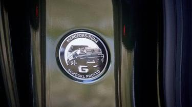 Mercedes G 350 d - badge