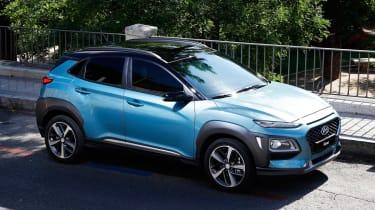 Hyundai Kona - above