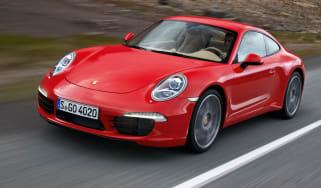 Porsche Cayman front tracking