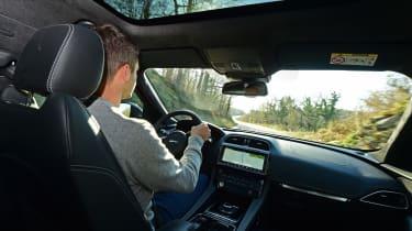 Jaguar F-Pace first drive - Rich driving