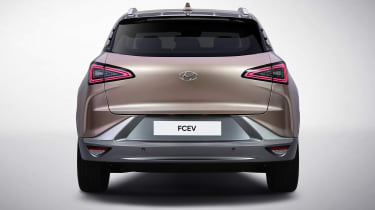 Hyundai FCEV - rear