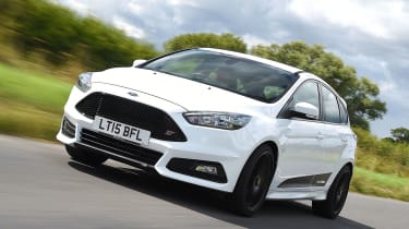Ford Focus ST Mountune - front tracking