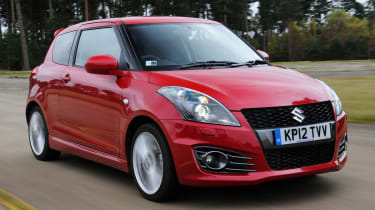 Suzuki Swift Sport front tracking