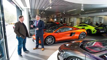 McLaren 570GT long term test first report - showroom