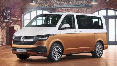 VW California - front static