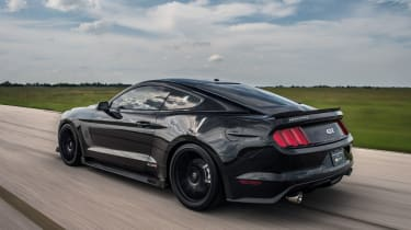 Hennessey Ford Mustang HP800 - rear tracking