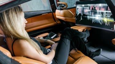 Fisker EMotion - rear seats