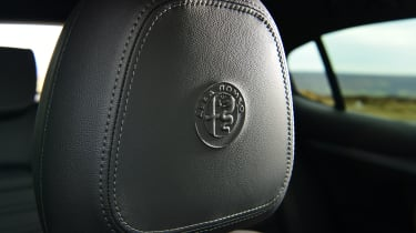 Alfa Romeo Stelvio - seats