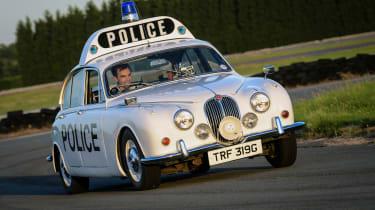 Jaguar XE long-termer - MkII police car