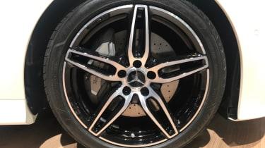 Mercedes E-Class Coupe - wheel
