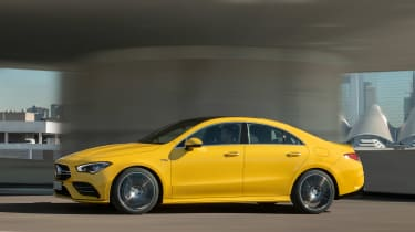 Mercedes-AMG CLA 35 - side action