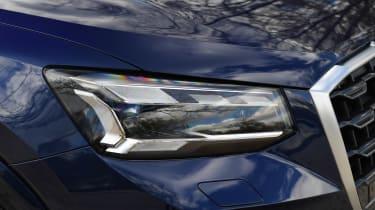 Audi Q2 35 TFSI long-termer - front light
