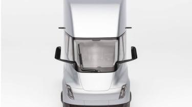 Tesla Semi Truck model - front