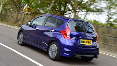 Nissan Note - rear tracking