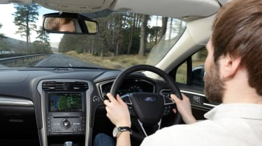 Ford Mondeo Vignale road trip - A68 driving