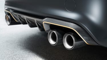 BMW M Performance Parts M2 exhaust tips