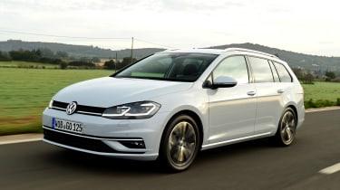 New Volkswagen Golf Estate - front