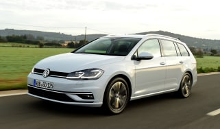 New Volkswagen Golf Estate - front