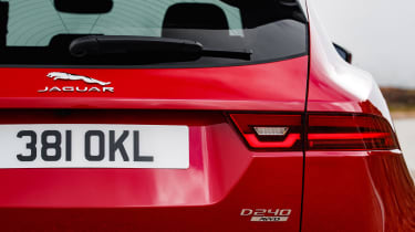 Jaguar E-Pace 240D diesel - tail-light