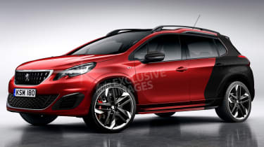 Peugeot 2008 GTi (watermarked_ - front