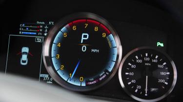Lexus RC F dials
