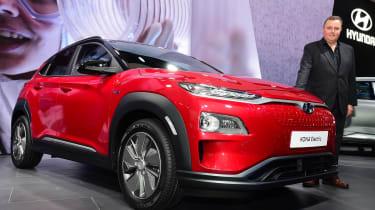2018 Geneva Motor Show stars - Hyundai Kona Electric Steve Fowler