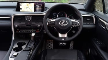 Lexus RX 200t - dash