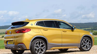 bmw x2 static rear