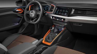 Audi A1 Citycarver - cabin