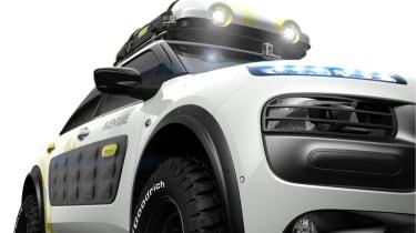 Citroen C4 Cactus Aventure concept front