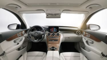 Mercedes C-Class 2014 interior white