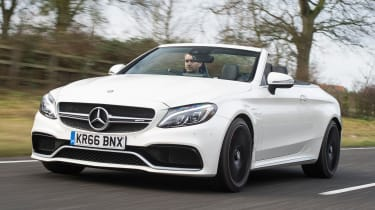 Mercedes-AMG C 63 Cabriolet 2017 - front tracking