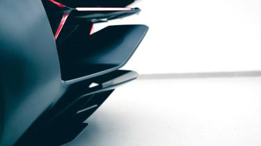 Lamborghini Terzo Millennio - rear detail